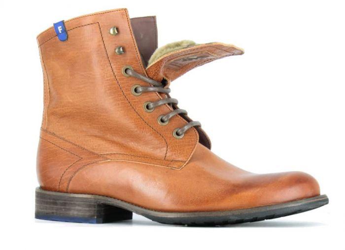 Floris Van Bommel Boot Cognac 10751-04 G 1/2