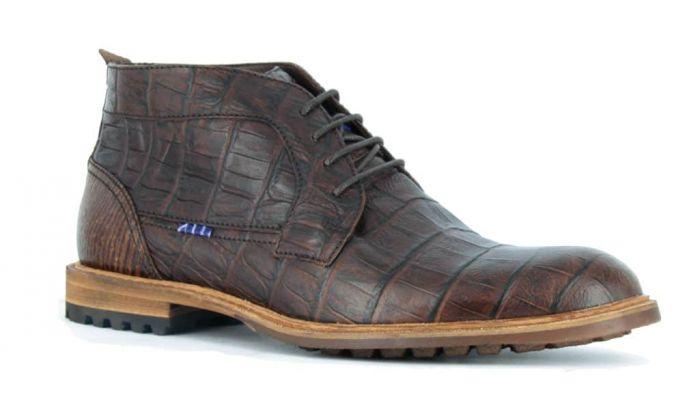 Floris van Bommel Boot Bruin 10687-07  H