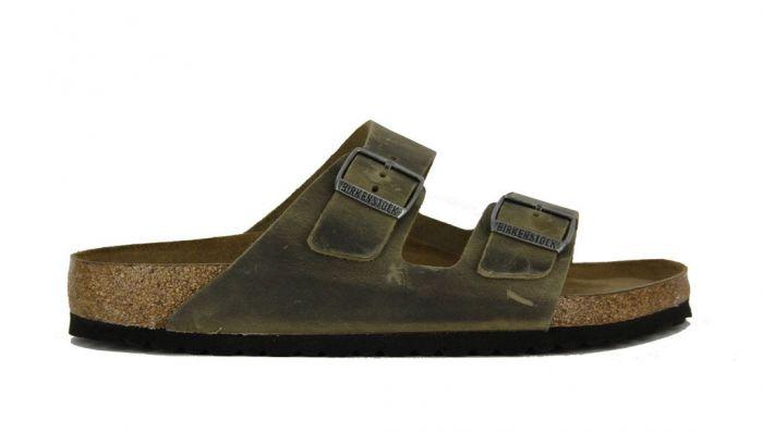 Birkenstock Slipper Arizona Khaki 1019313
