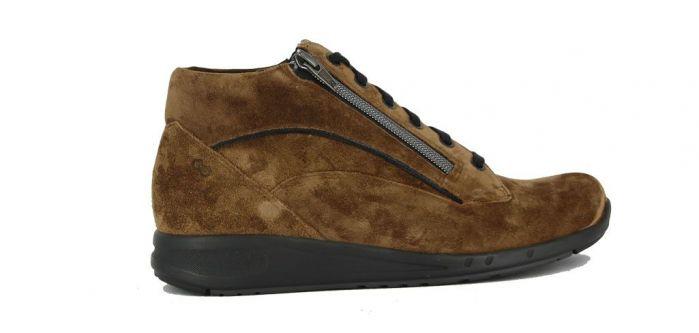 Durea Go Sneaker Hoog Bruin 9683 H