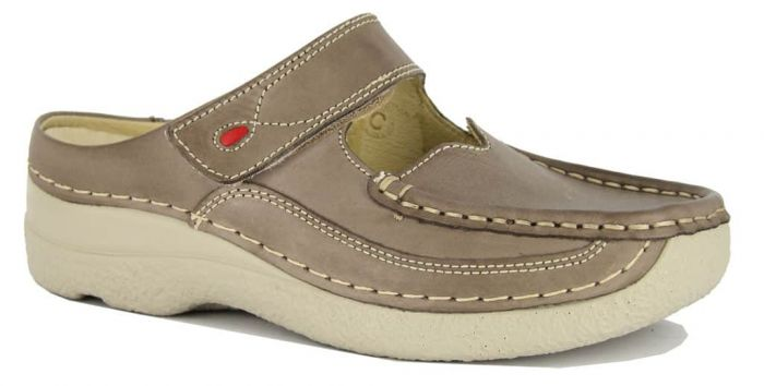 Wolky Roll Slipper Taupe