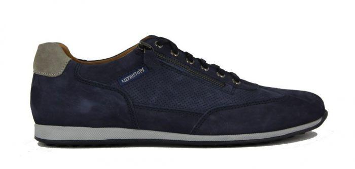Mephisto Sneaker Leon Blauw