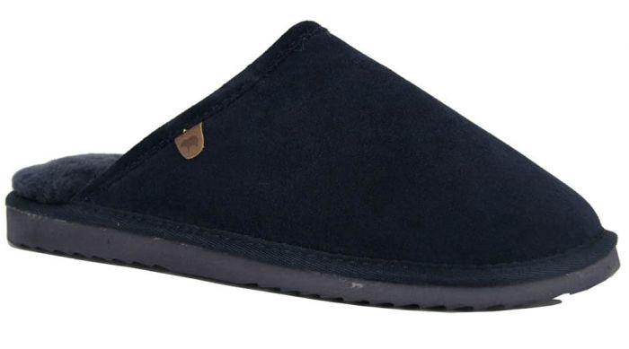 Warmbat Australia Pantoffel Blauw Classic