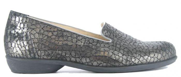 Durea Loafer Zwart Print H