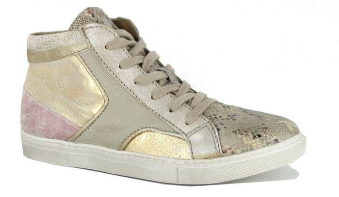Piedi Nudi Sneaker Beige Goud 622201