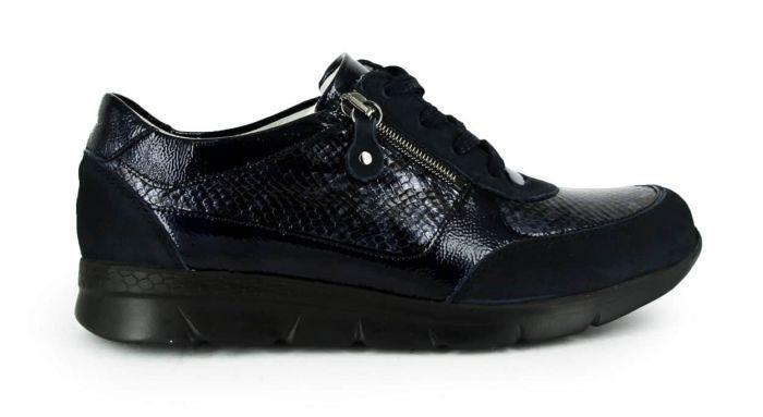 Waldlaufer Sneaker Blauw 661003 K