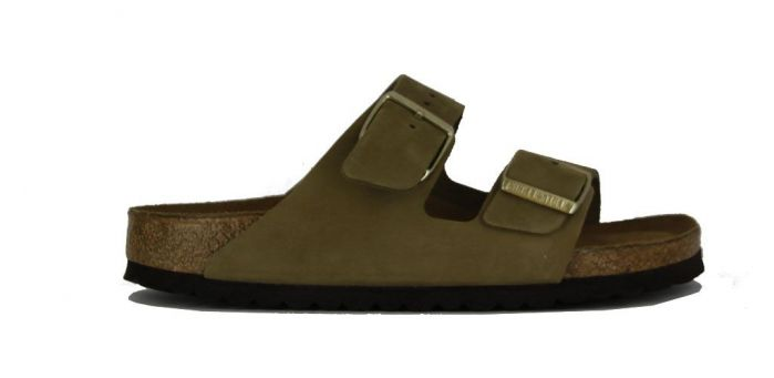 Birkenstock Slipper Arizona Khaki 1018998