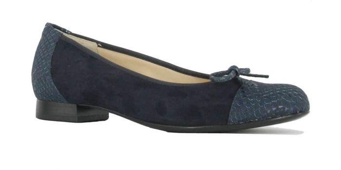 Hassia Ballerina Blauw 9-301035 G
