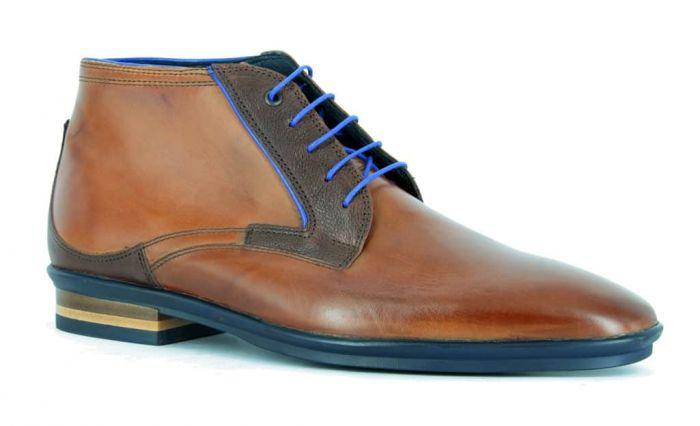 Floris van Bommel Boot Cognac  10703-00 H