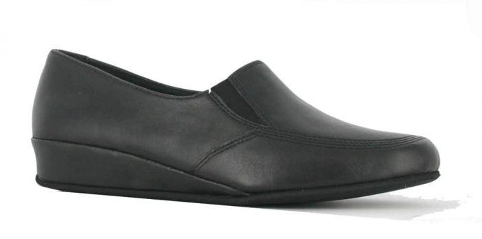 Rohde Pantoffel Zwart 6303-90