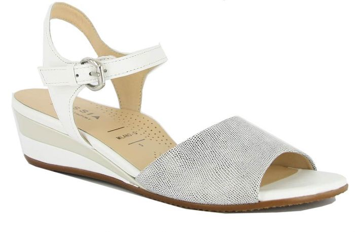 Hassia Sandaal Off-White 9-313106 G