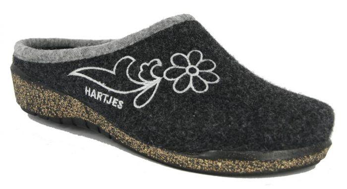 Hartjes Slipper Zwart 86424 1-13