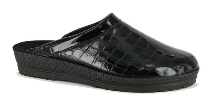 Muil Krokolak Zwart G
