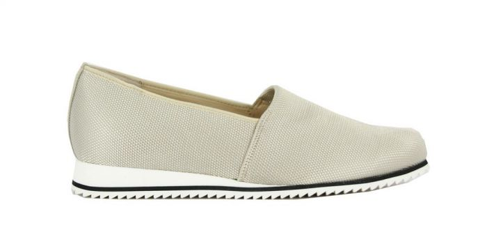 Hassia Loafer Piacenza Platin 301688 G