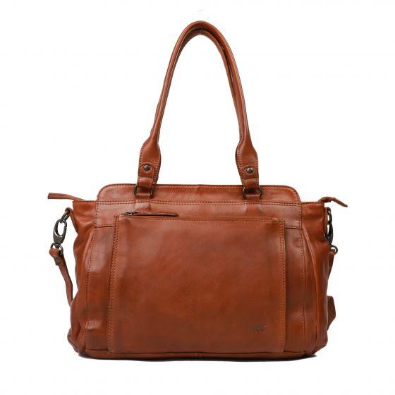 Bear Design Tas Cognac CL41573