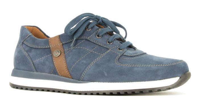Waldlaufer Veterschoen Jeans 414009 H
