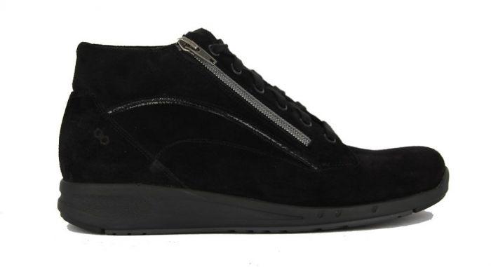 Durea Go Sneaker Hoog Zwart 9683 H