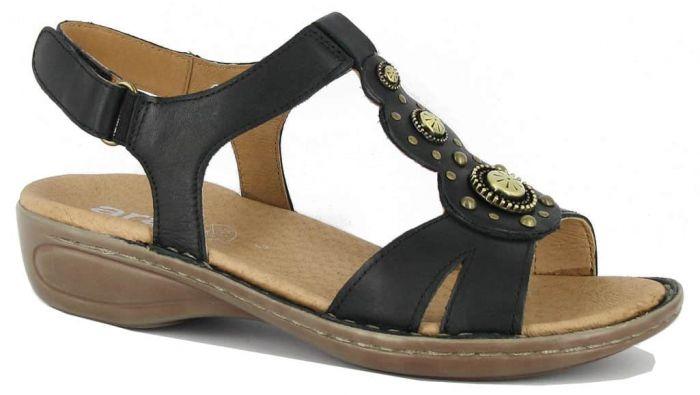 Ara Sandaal Zwart 12-37203-01 G