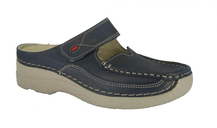 Wolky Roll-Slipper Blue Summer 6227